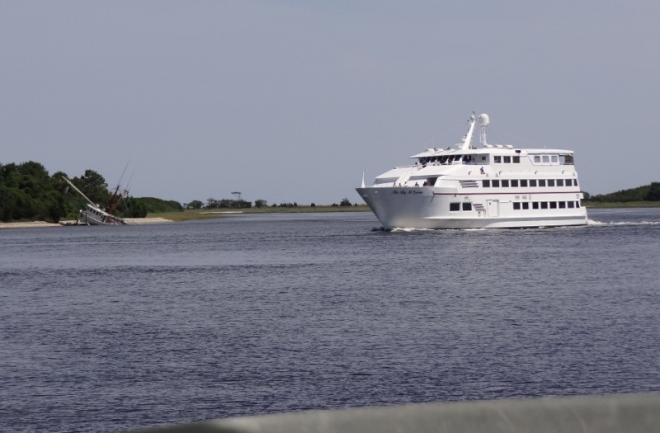 Big M Casino boat returns to her dock