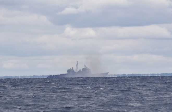 WS 55 live fire exercises off Camp Lejeune