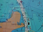 channel in, buoys moved but not the channel depicted on chart AIS are dredges