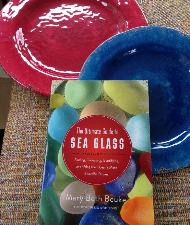 New plates & mats on sale at Pier 1 and a book I have longed for