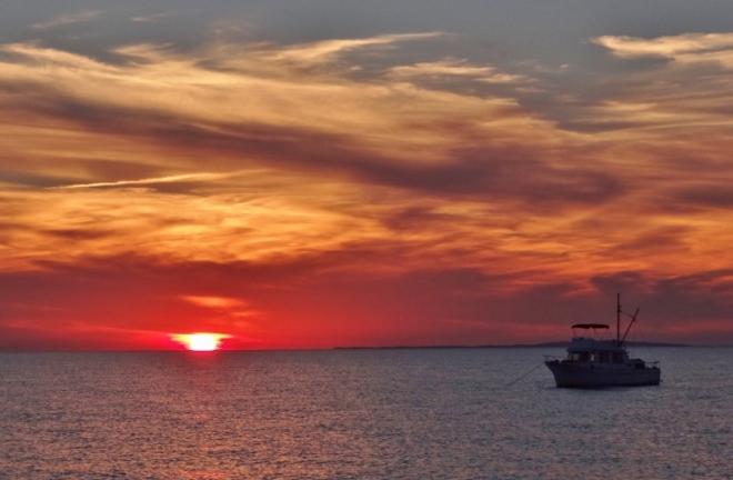 Classic Menemsha sunset