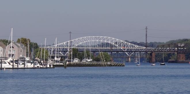 Approaching Havre de Grace