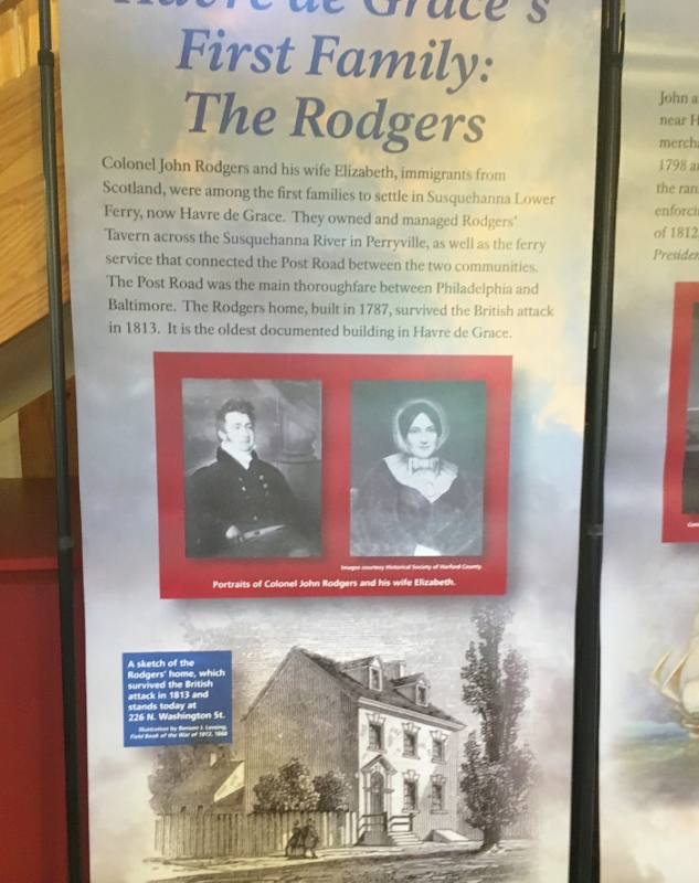 Havre de Grace's First Family -John & elizabeth Rodgers