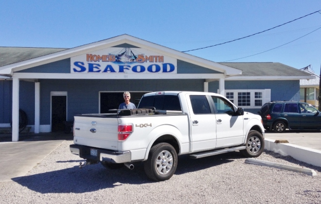 Seafood and Dockage- clean docks, office, laundry & shower