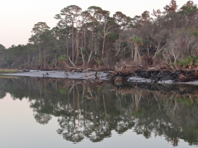 Talbot Island, Kingsley Plantation on the Ft George river.