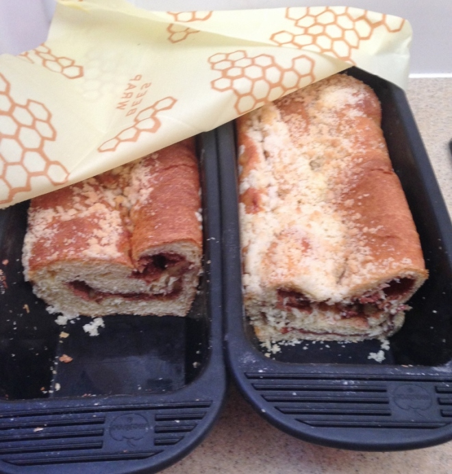 Babka and Benj's gift of Bees Wrap